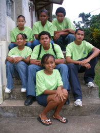 Image of youth in Dominica