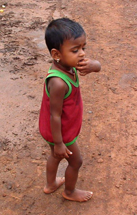 Young Child in Post-Conflict Sri Lanka