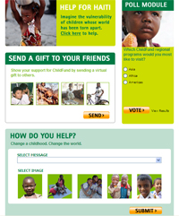 ChildFund's new Facebook Page