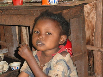 Child in Ethiopia