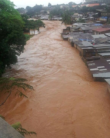 Flooding in Sierra Leone