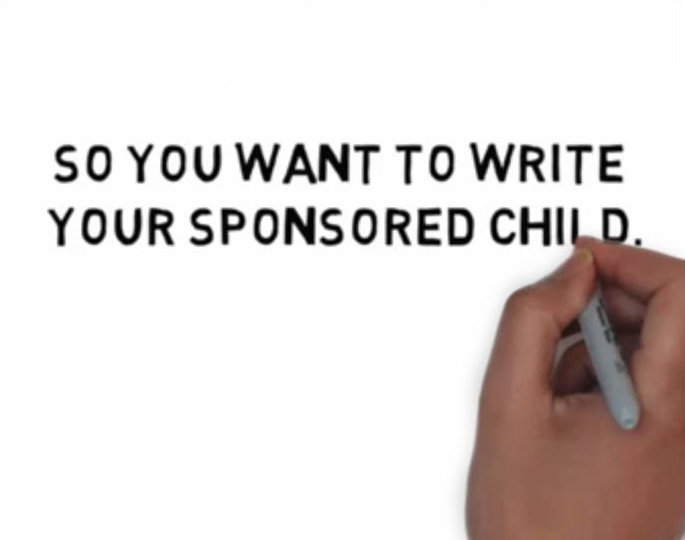 Writing To Your Sponsored Child