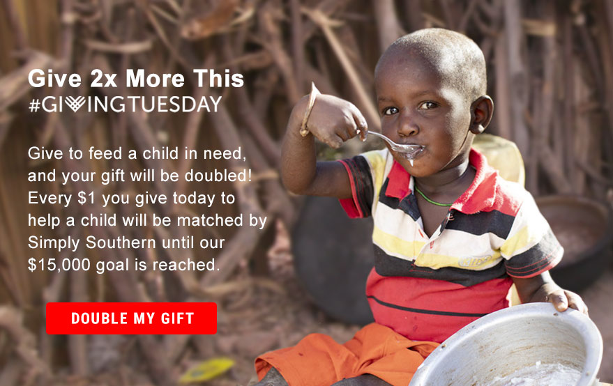 Give 2x More This #GivingTuesday