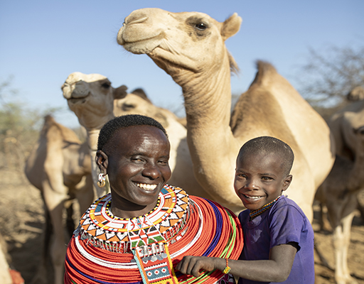 A Camel for a Family in Kenya
