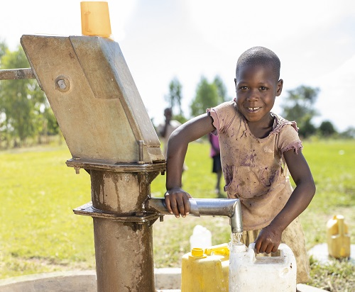 One Hand Pump Well