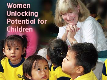 Women Unlocking Potential for Children