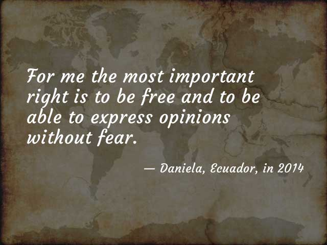 Quote from Daniela
