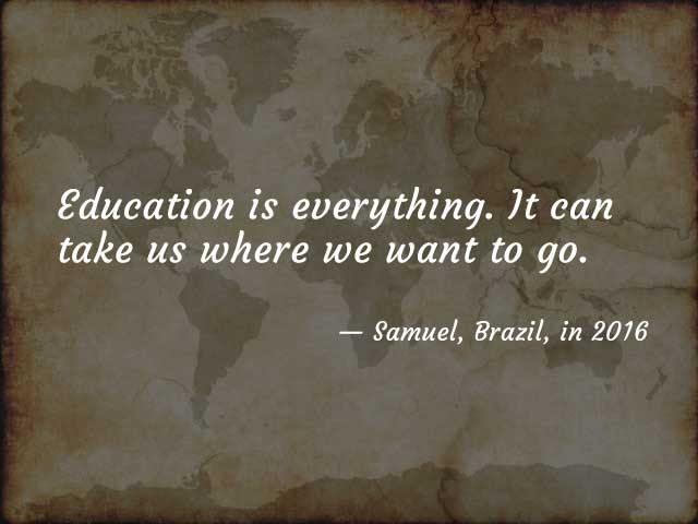 Quote from Samuel