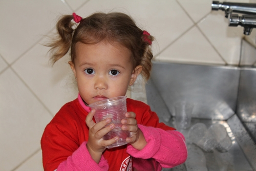 ChildFund's work in countries such as Brazil has provided clean water to children.