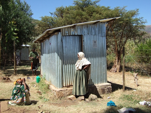Unimproved sanitation is a serious problem in many developing nations.