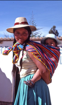 A ChildFund goal in Bolivia is to help mothers receive proper medical care before, during and after giving birth.