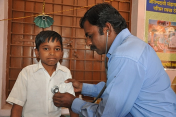 Vaccination programs across India have helped halt the spread of polio.