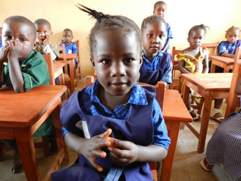 In Sierra Leone, children have more opportunities to attend school today.