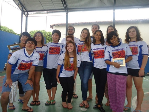 Students from California's Soku University went to Medina, Brazil, in January 2013 to meet Brazilian teens who are involved in the Photovoice photography workshop.