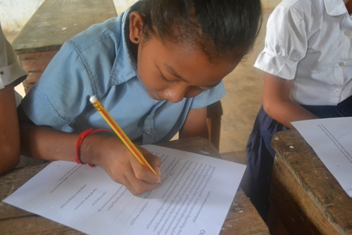 Many Cambodian schoolchildren take 10 years or more to complete primary school.