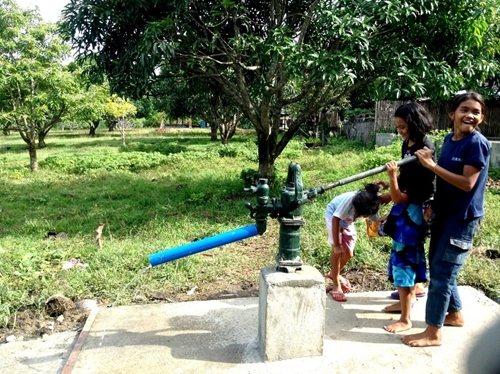 Ensuring that communities have access to clean water is essential in the fight against dengue fever and other diseases.