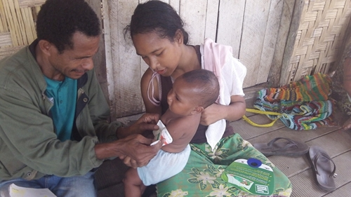 Immunizations are instrumental in saving the lives of children living in poverty.